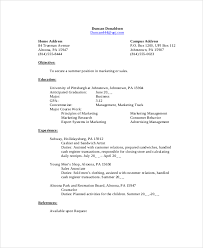 Subway Sandwich Artist Job Description Resume by Sample Student Resume 9 Examples In Pdf Word