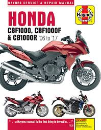 honda cb 1000 cb1000r repair manual haynes service manual workshop