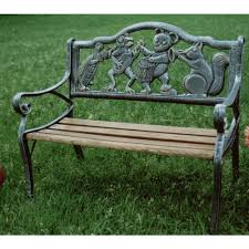 bench vintage cast iron bench cast iron bench antique cast iron