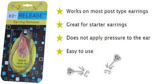 starter earrings buy it earring remover ez release easily remove stuck earrings