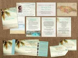 boarding pass save the date vintage passports boarding pass palm tree destination set wedding