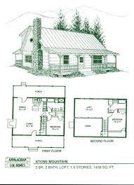 small cabin floor plans loft cottage home blueprints exceptional