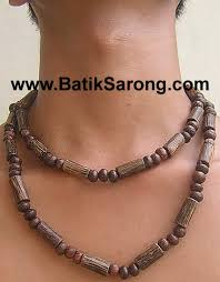 wood beads necklace images Wood necklaces for men jewelry accessories from indonesia jpg