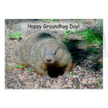 groundhog day cards happy groundhog day gifts on zazzle