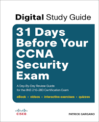 days before your ccna security exam