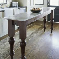 kitchen island or table narrow island for small kitchen legs lace fretwork for island