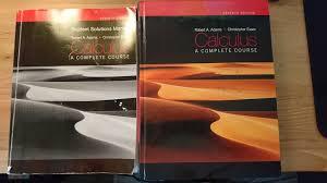 calculus a compelete course på tradera com statistik och matematik