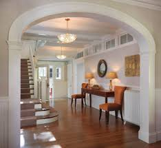 interior arch designs for hall entry traditional with gracious