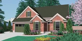 Starter House Plans Mascord House Plan 1148 The Glenview
