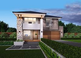 Narrow House Designs by St Clair Two Storey Narrow Block Home Design Mcdonald