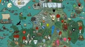 7 kingdoms map easter egg filled map of of thrones seven kingdoms