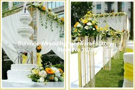 indian wedding mandap prices gold iron road leading flower stand column indian wedding mandap