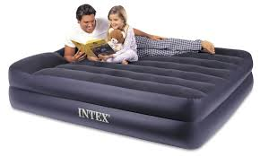Sofa Beds With Air Mattress by Amazon Com Intex Pillow Rest Raised Airbed With Built In Pillow