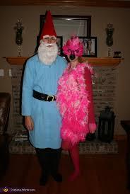 Lawn Gnome Halloween Costume Lawn Ornaments Flamingo Garden Gnome Couple Halloween
