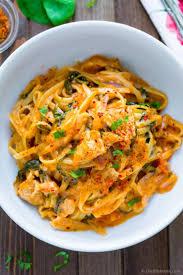 one pot cajon chicken pasta recipe chefdehome com