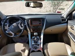 mitsubishi asx 2017 interior mitsubishi montero sport 2017 review bahrain yallamotor