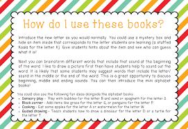 mini beginning sound alphabet books little lifelong learners