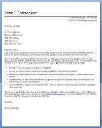 abm security officer cover letter