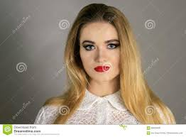 beautiful fashion luxury makeup long eyelashes perfect skin