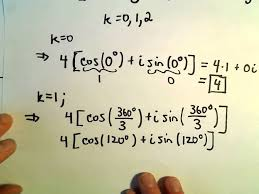 roots of complex numbers ex 3