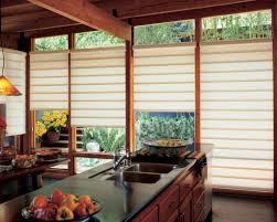 kitchen 3 window panel wooden kitchen blind design simple