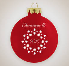 chromosome 18 registry ornament fundraiser chromosome18