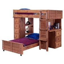 Loft Bed With Desk On Top L Shaped Bunk Beds You U0027ll Love Wayfair