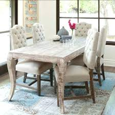 dining table shabby chic extending dining table and 6 chairs