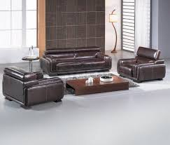 Modern Italian Leather Sofa Furniture Brown Modern Italian Leather Sofa With