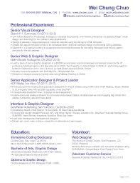 Front End Developer Resume Front End Web Developer Resume Eliolera Com