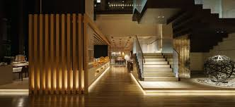 canap駸 le corbusier photography brasserie in four seasons hotel kyoto architecture