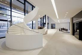 Office Interior Design Ideas Modern Modern And Contemporary Office In White Interior U2013 Icade Office