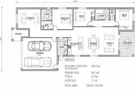 home plans single story modern house plans floor plan australia morton pole home single