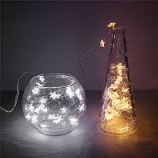 battery operated led string lights waterproof 6 5ft 20 led string lights fairy light button battery operated