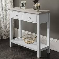 white console table with drawers white console table 2 drawers white laura james la https