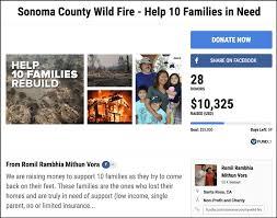 raise money donate to california wildfires relief 15 effective