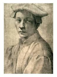 portrait of andrea quaratesi c 1532 giclee print by michelangelo