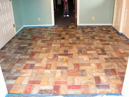 Faux Painted Floors - custom finishes