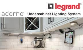 adorne under cabinet lighting system legrand cabinets cabinet lighting legrand cabinets legrand