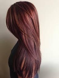 Frisuren Lange Haare Rot by Die Besten 25 Rotes Haar Mit Strähnen Ideen Auf Kurze