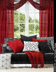 Curtains With Red Best 25 Red And Black Curtains Ideas On Pinterest Red Bedroom