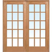 26 Inch Prehung Interior Door by National Door Company Z009321ba Primed Mdf 15 Lite Clear Glass