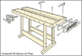 Free Plans Building Wood Workbench by Veritas Bench Plans Lee Valley Tools