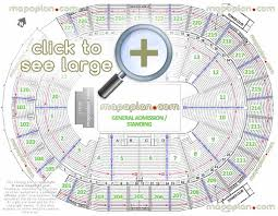 madison square garden seating chart with seat numbers the gardens