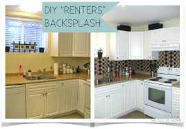 removable kitchen backsplash kitchen backsplash diy cabinets absolutely smart temporary