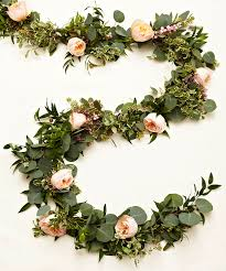 learn how to create your own gorgeous floral garlands floral