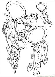 finding nemo coloring book pages kids coloring