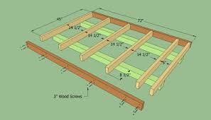 shed roof addition to garage shed plans free