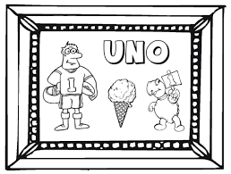 ideas spanish numbers 1 10 coloring sheets resume