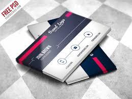 modern business card design template free psd psdfreebies com